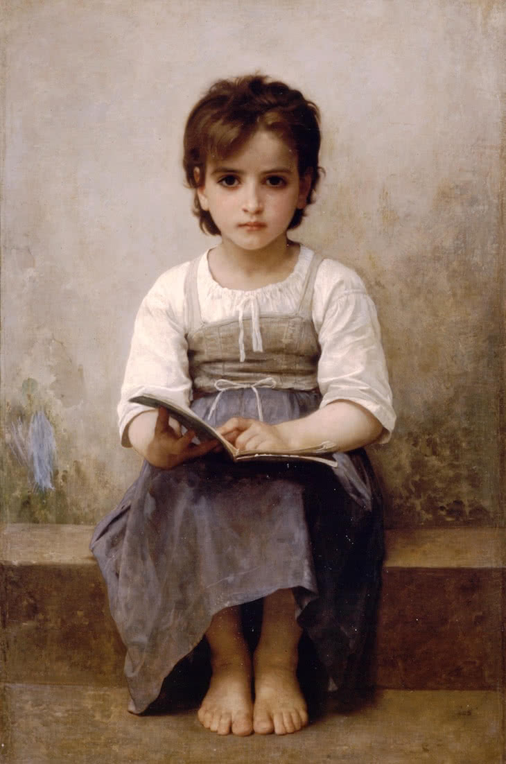 Bouguereau / The difficult lection
